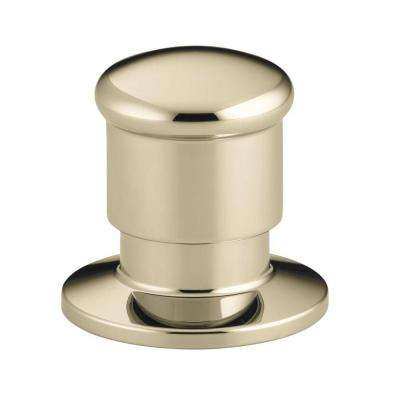 Deck Mount 2-Way Diverter Valve in Vibrant French Gold