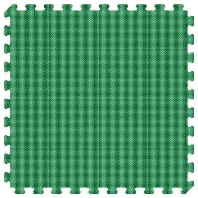 Green and Lime Green Reversible 24 in. x 24 in. Thick Comfortable Mat (100 sq.ft. / Case)