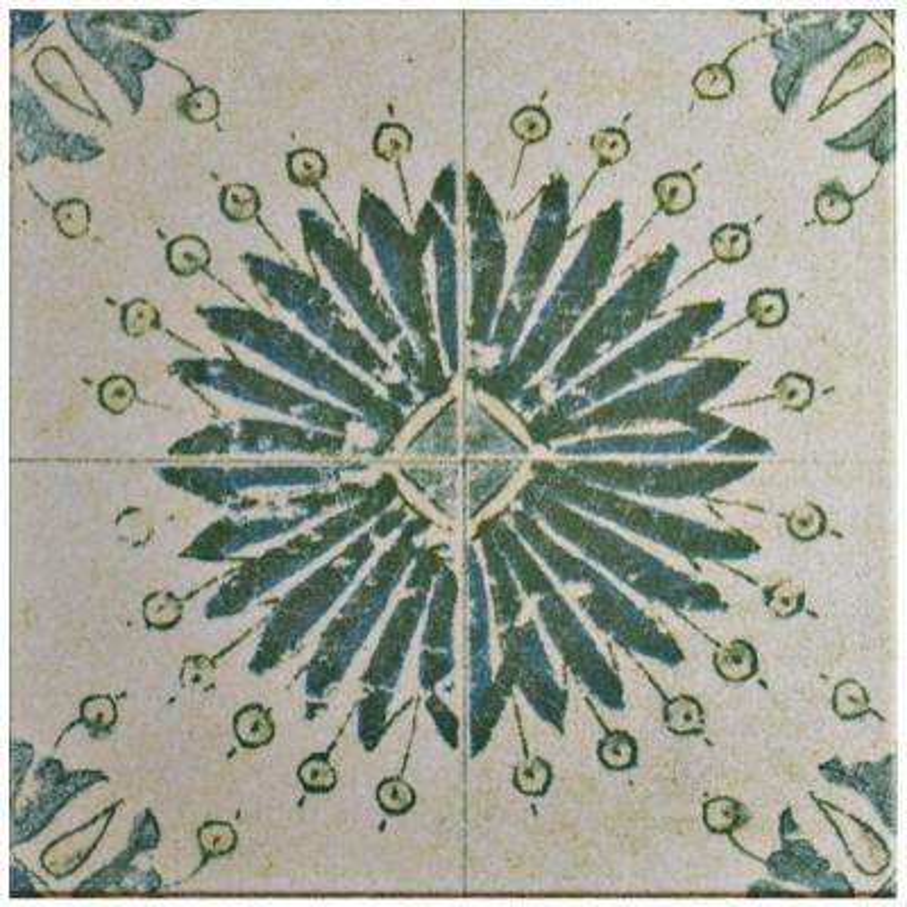 Klinker Retro Blanco Aster 12-3/4 in. x 12-3/4 in. Ceramic Floor and Wall Quarry Tile