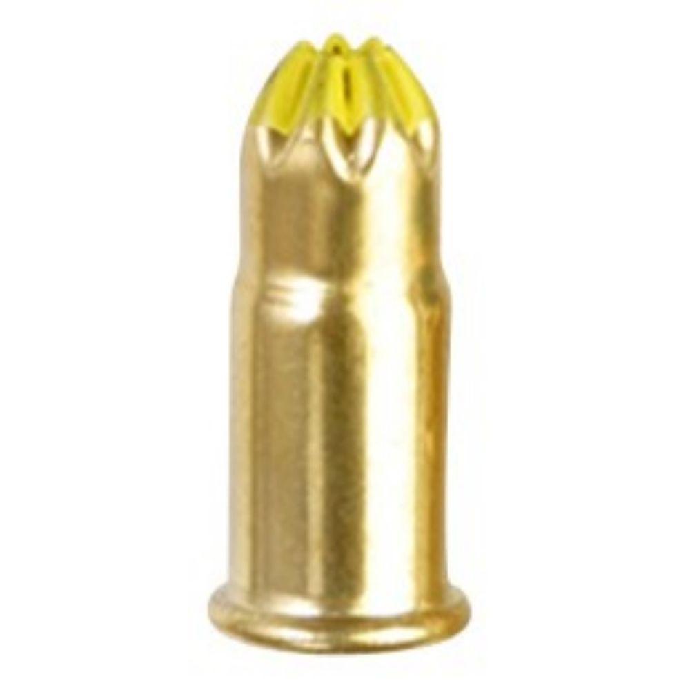 0.22 Caliber Yellow Single Shot Powder Loads (100-Count)