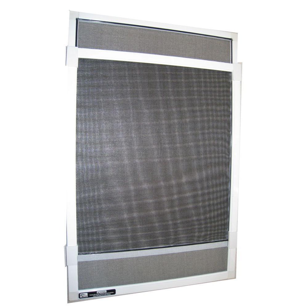 15 in. x 37 in. Fiberglass Adjustable Window Screen