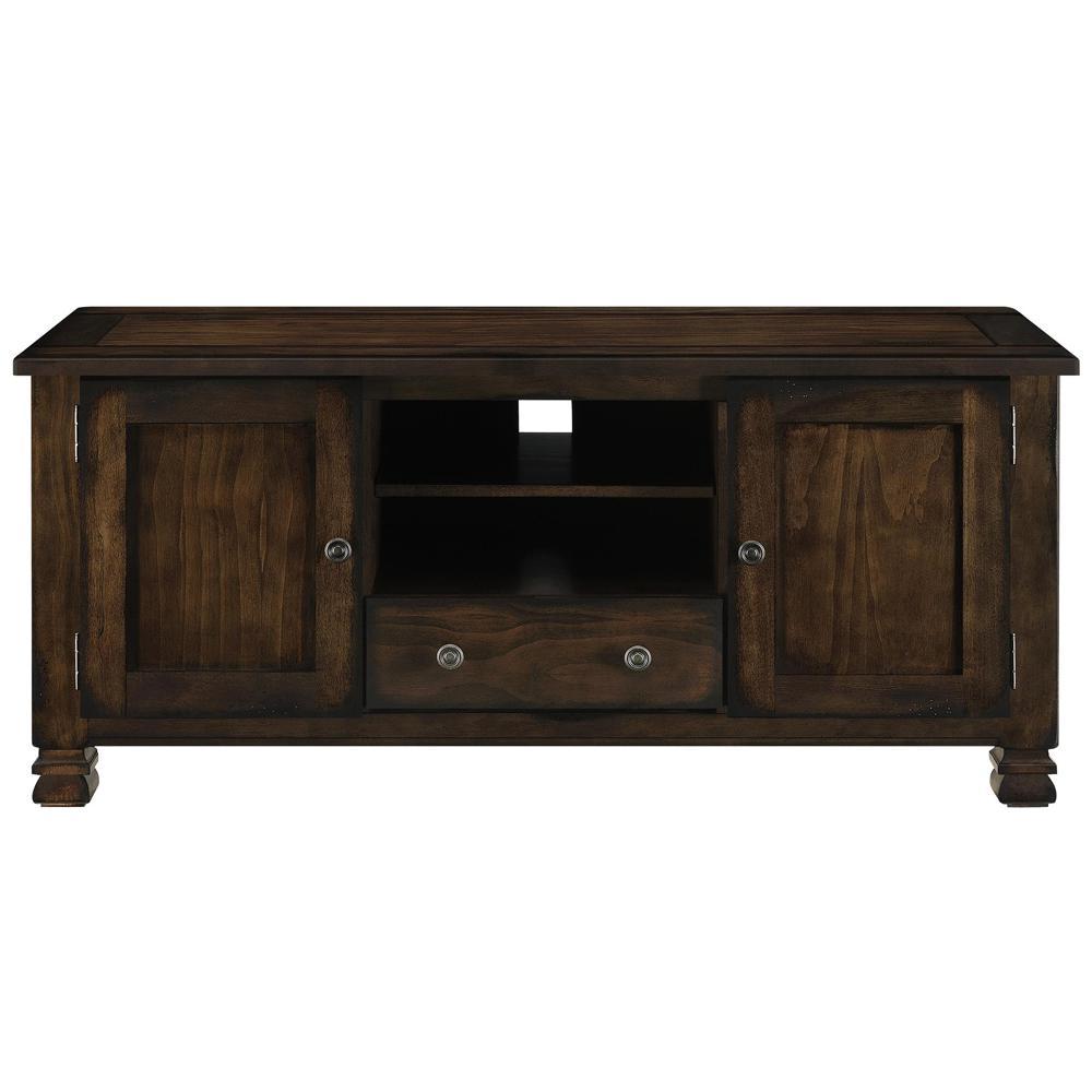 Havana Espresso 55 In Wood Veneer Tv Stand