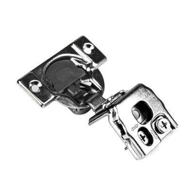 105-Degree 1-1/2 in. (35 mm) Overlay Soft Close Face Frame Cabinet Hinges with Installation Screws (1-Pair)