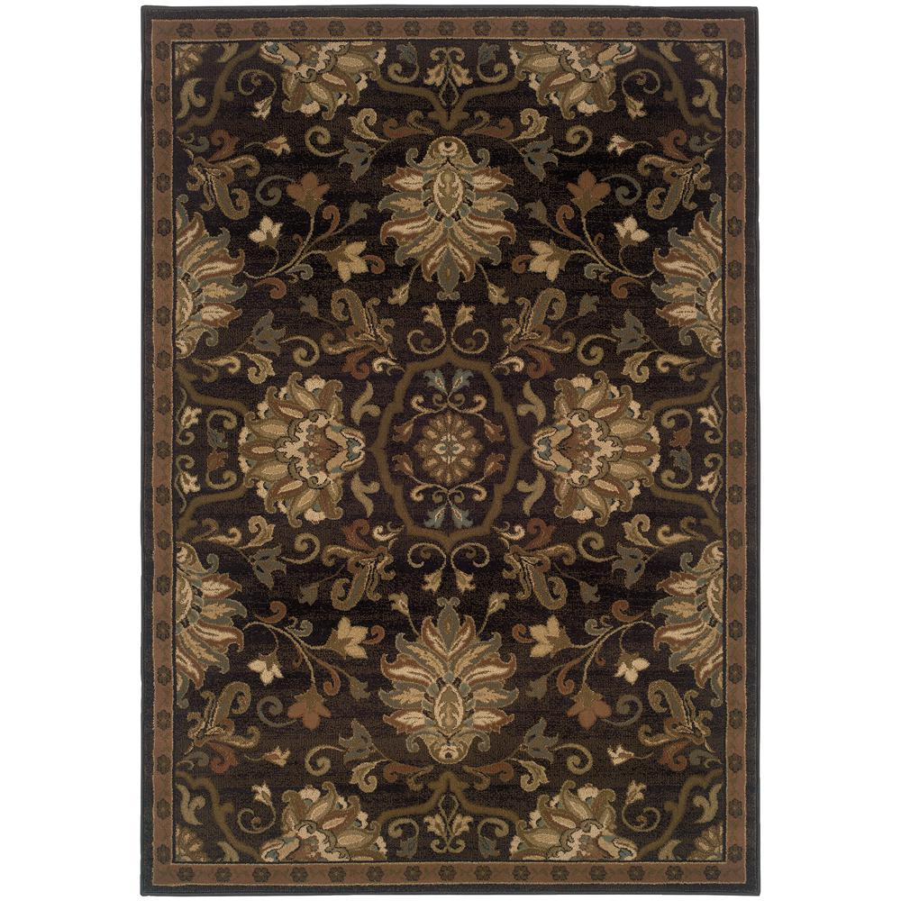 Eastgate Espresso (Brown) 5 ft. 3 in. x 7 ft. 6 in. Area Rug