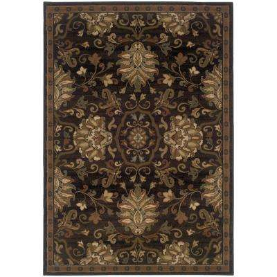 Eastgate Espresso 8 ft. x 11 ft. Area Rug