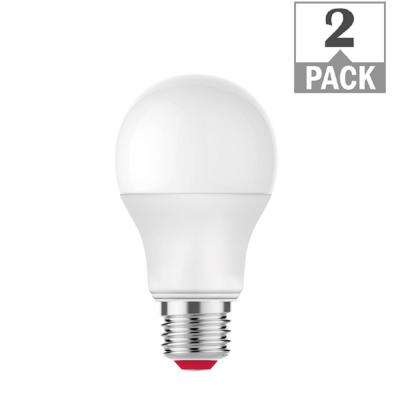 60-Watt Equivalent A19 Dimmable SMART LED Light Bulb Tunable White (2-Pack)