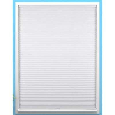 Blackout White Cordless Room Darkening Cellular Shade 35 in. W x 60 in. L (Actual Size)
