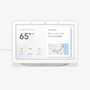 google google home hub chalk ga00516 us the home depot