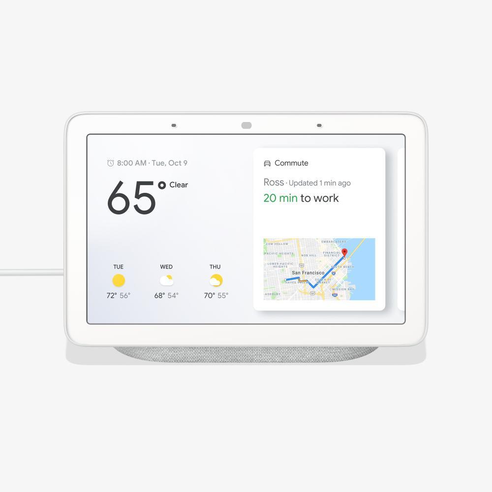 f26c6c1f4ac28 Google Home Hub Chalk-GA00516-US - The Home Depot