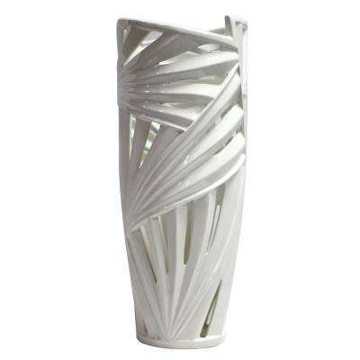 White Ceramic Decorative Vase