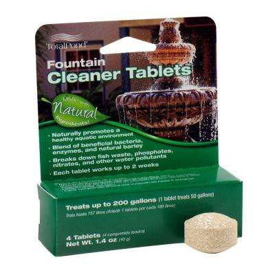 Fountain Pond Cleaner Tabs (4-Pack)