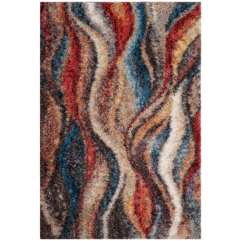 Safavieh Gypsy Rust Blue 8 Ft X 10 Area Rug