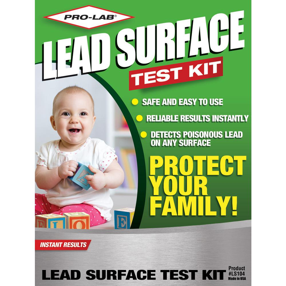 Lead Surface Test Kit (6-Tests)