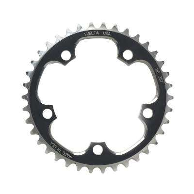 SE Flat 110 mm/BCD 38T Chainring in Black
