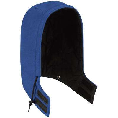 Nomex IIIA Men's Medium Royal Blue Universal Fit Snap-On Insulated Hood