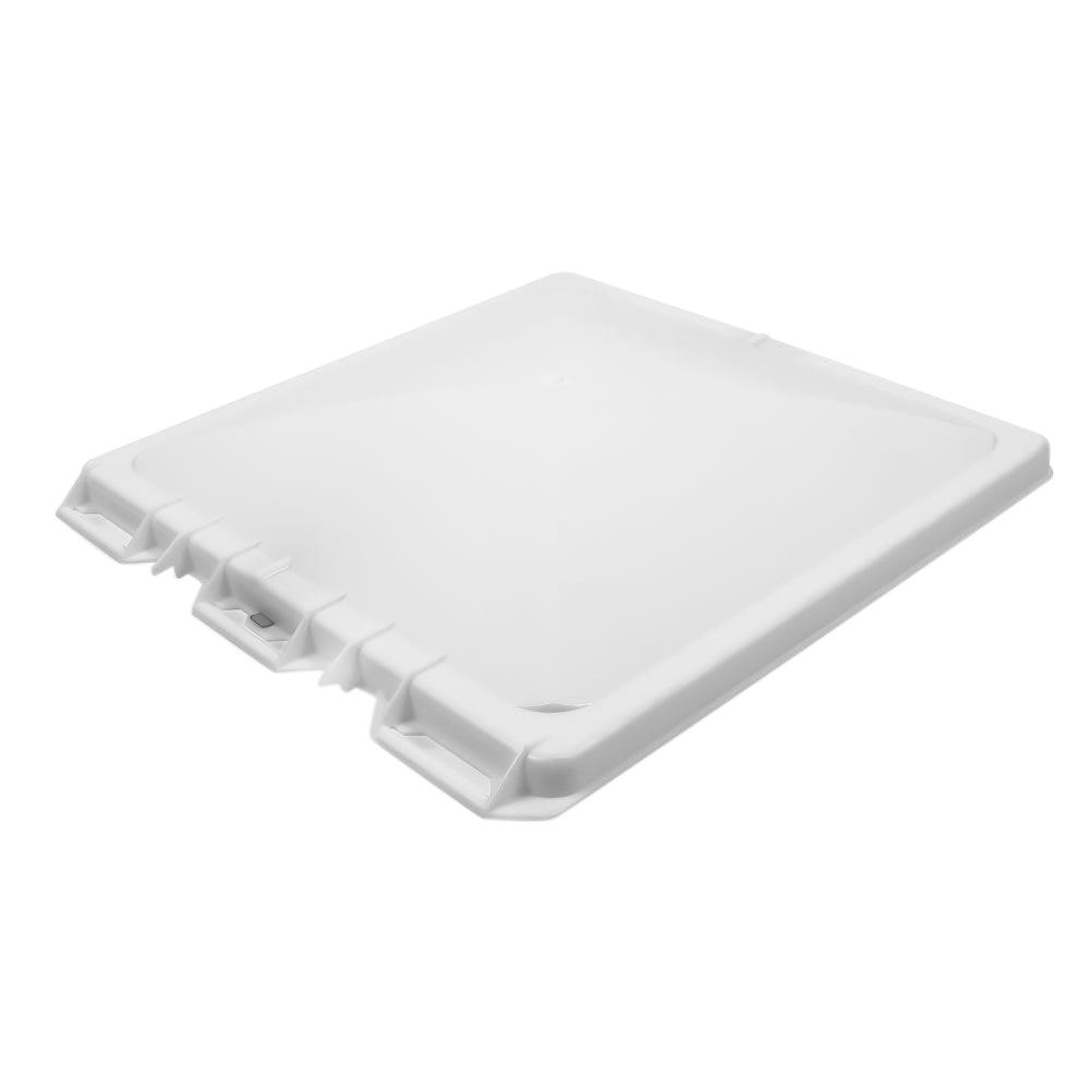 Camco White Polypropylene Vent Lid For Metal Vent Jensen