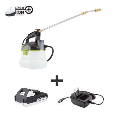 24-Volt Multi-Purpose Chemical Sprayer Kit with 1.3 Ah Battery and Charger