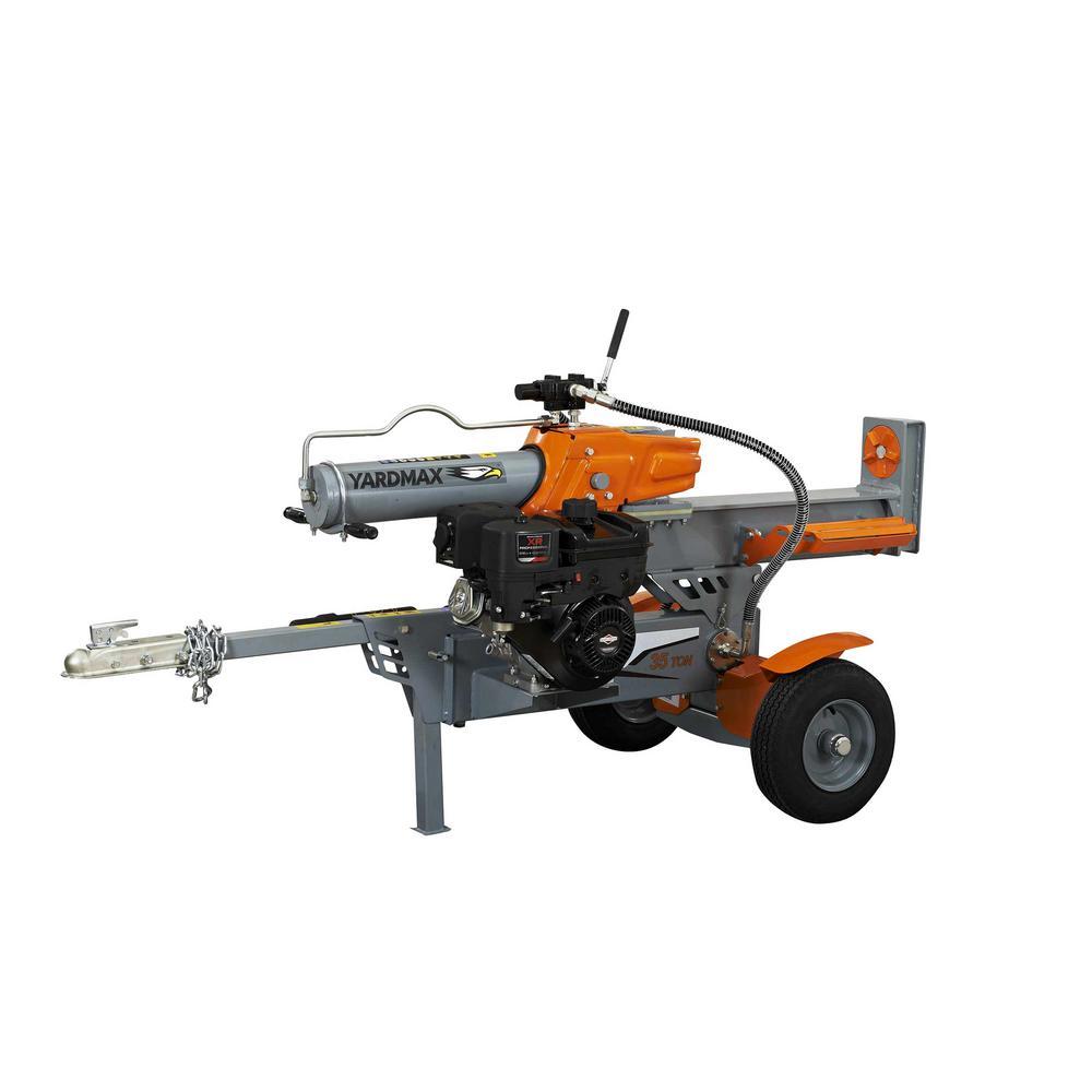 35 Ton 306cc Half Beam Log Splitter