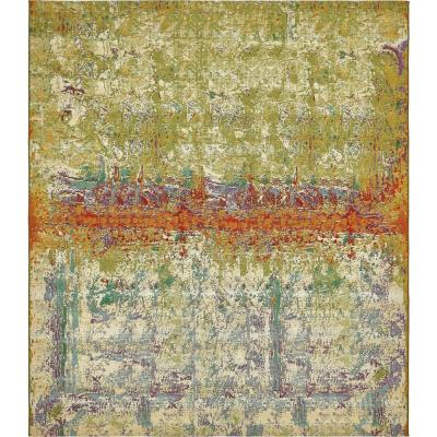 Outdoor Crumpled Multi 10' 0 x 12' 0 Area Rug