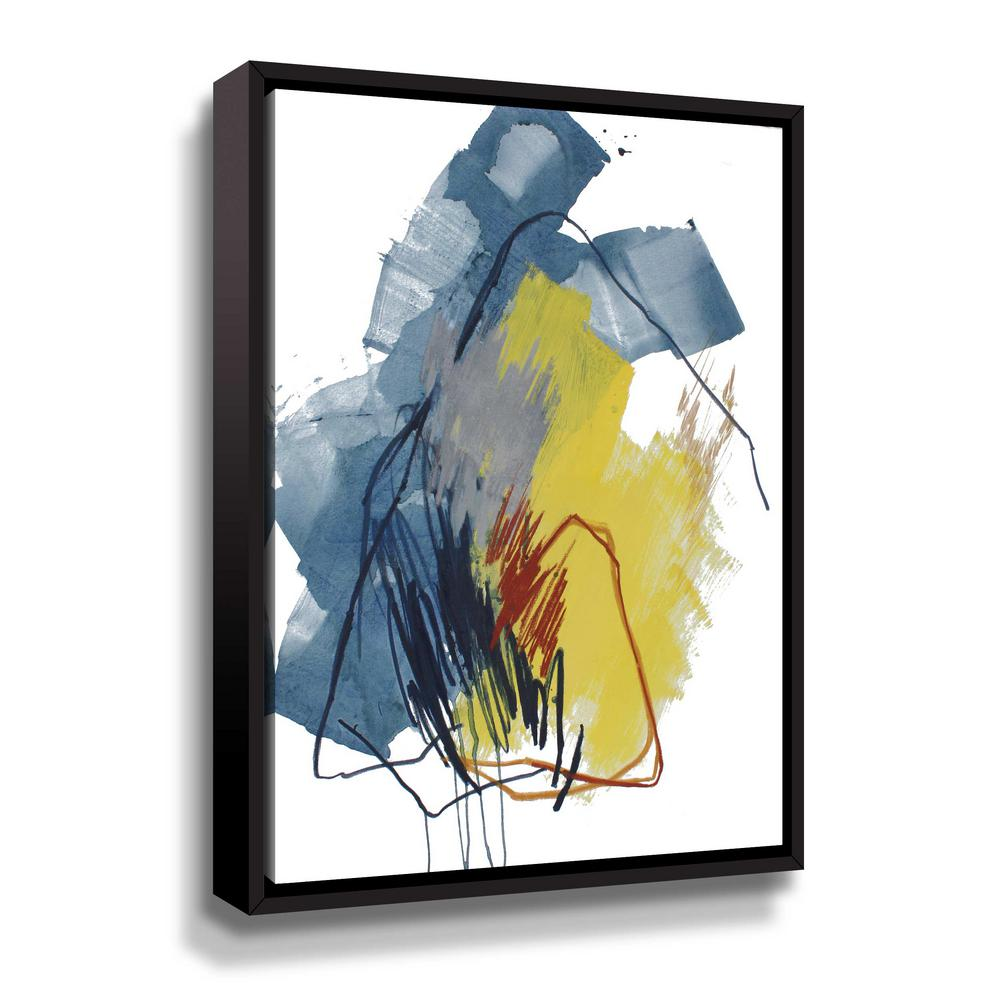 Fall of 2016 no. 1' by Ying guo Framed Canvas Wall