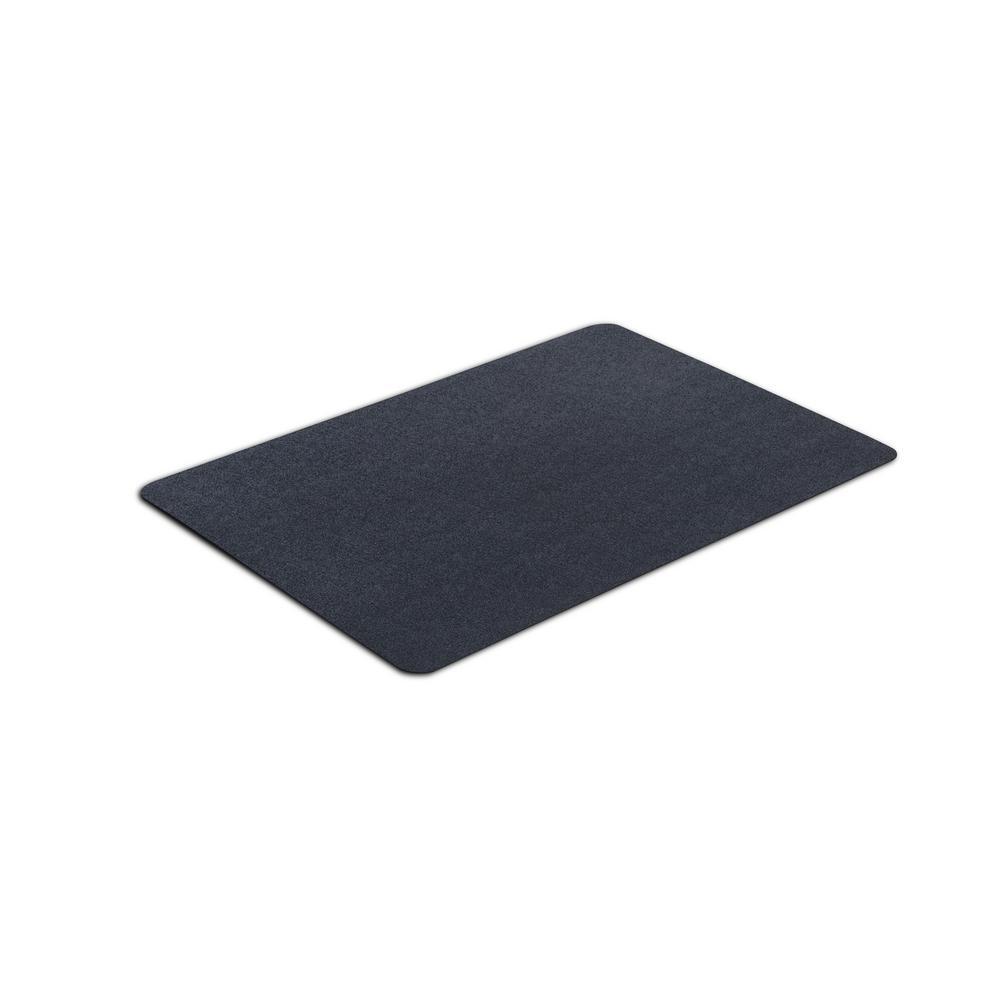 Dog Rug To Catch Dirt: VersaTex 24 In. X 36 In. Multipurpose Black Vinyl Mat-8M