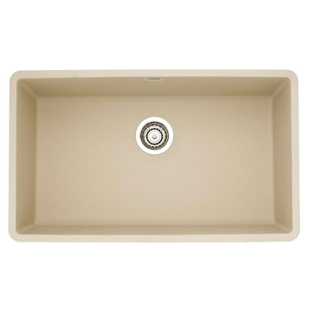 Granite/Quartz Composite - Beige - Undermount Kitchen Sinks ...