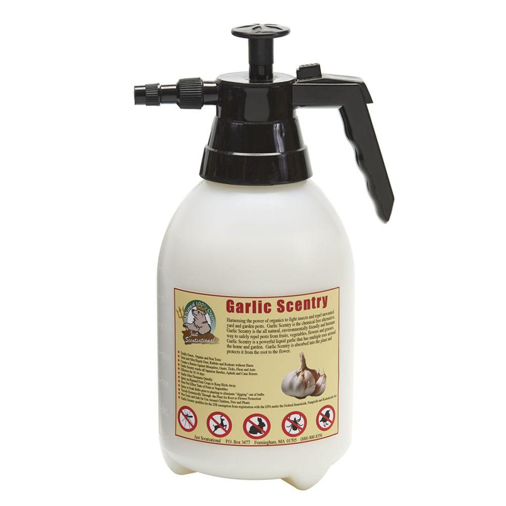 Just Scentsational 64 oz. Garlic Scentry Animal Repellent Pre-Loaded in 2 l Sprayer