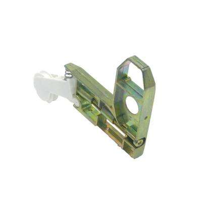 Nylon Wheel Corner Bracket Assembly for Sliding Screen Door
