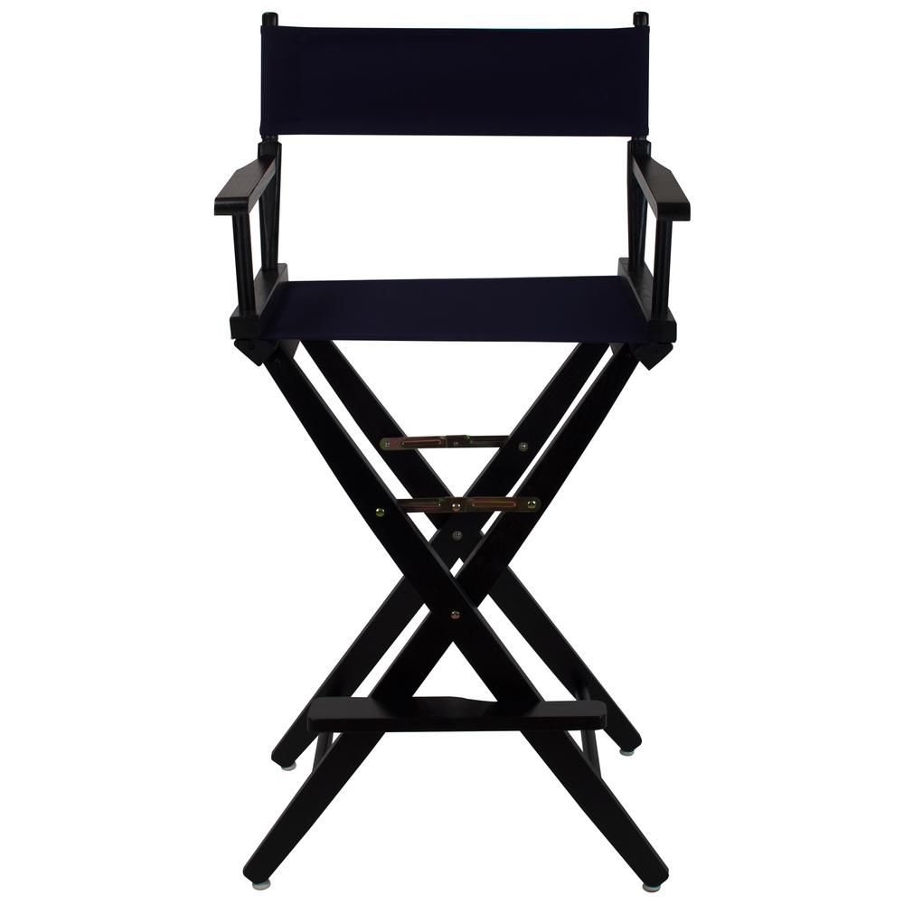 Attrayant American Trails Extra Wide Black Frame/Navy Canvas American Hardwood 30 In.  Directors