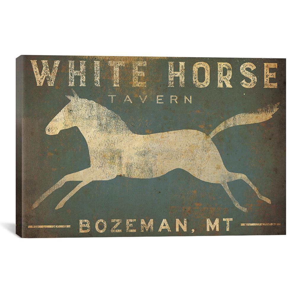 """White Horse Tavern"" by Ryan Fowler Canvas Wall Art"