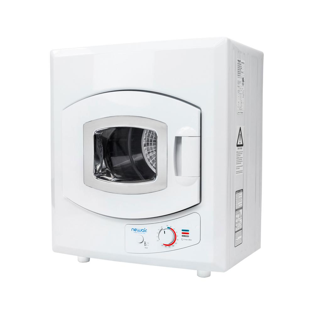 Portable 3.6 cu. ft. Compact Electric Mini Dryer in White