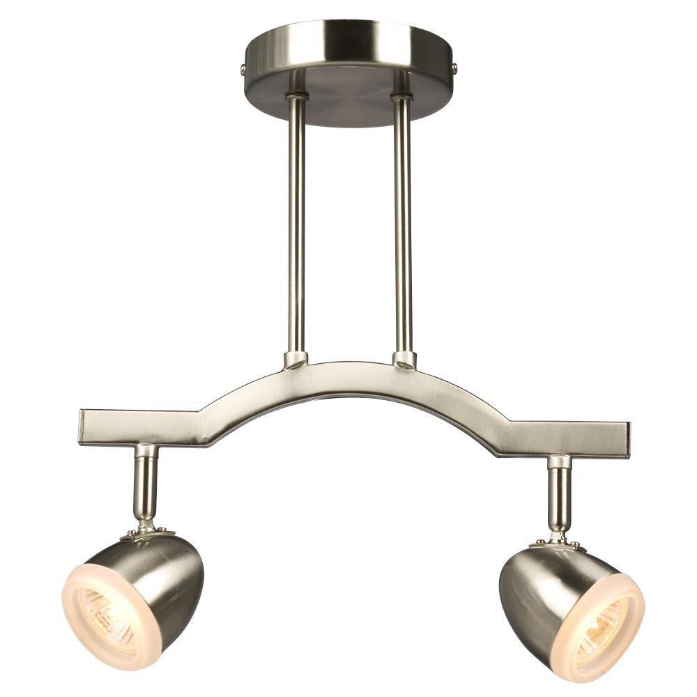 Filament Design Negron 2 Light Brushed Nickel Track