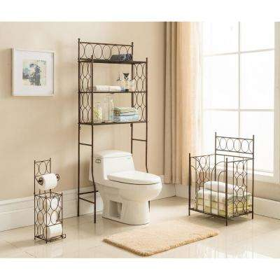 Freestanding 3-Shelf Over the Toilet Organizer