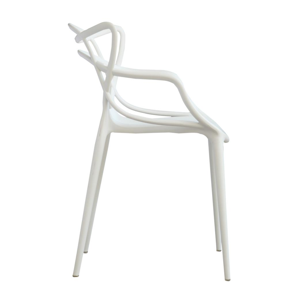 White Brand Name Dining Chair-FMI10067-WHITE