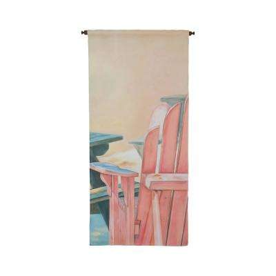 "Multicolor ""Coral Adirondack"" Wall Tapestry"