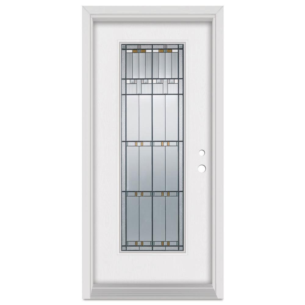 Stanley Doors 33 375 In X 83 In Architect Left Hand