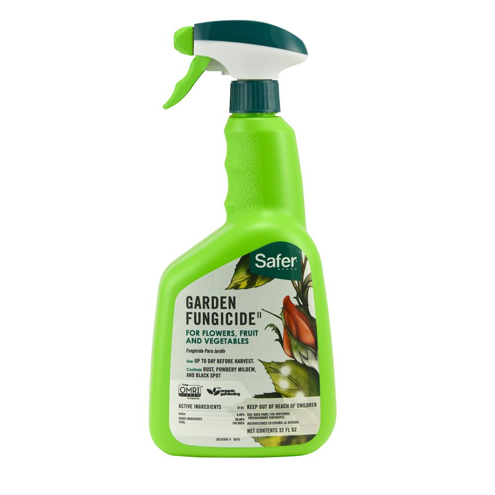 Safer Brand 32 oz. Ready-to-Use Garden Fungicide