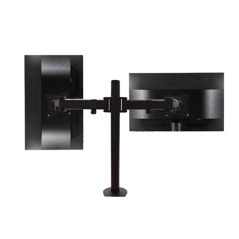 3-Way Articulating Dual Monitor Mount for 13 in. - 27 in.