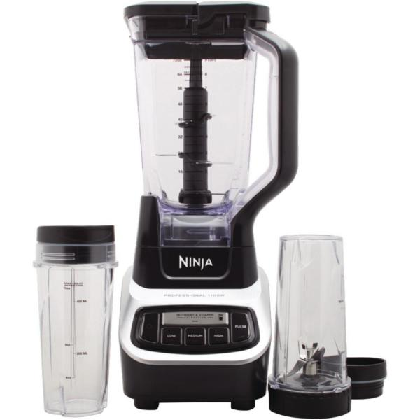 Ninja Professional 72 oz. 3-Speed Black Blender 1000 BL610