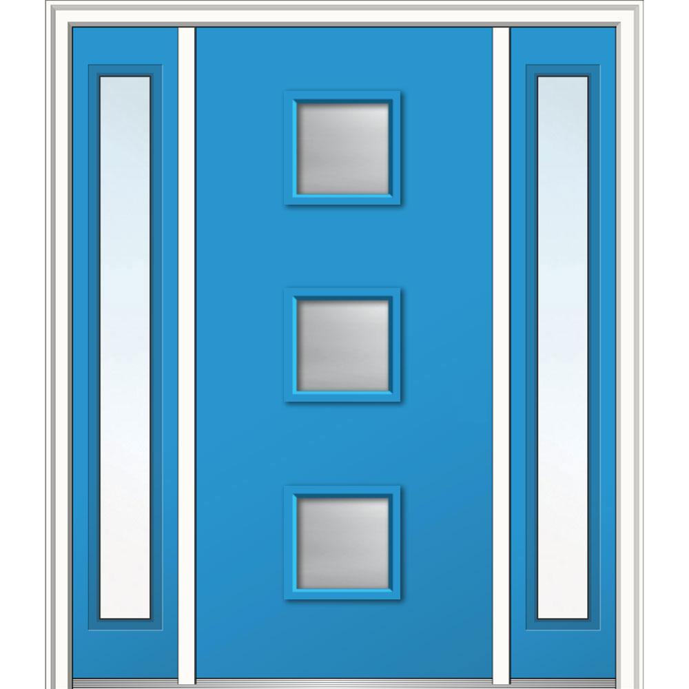 blue front doorBlue  Front Doors  Exterior Doors  The Home Depot