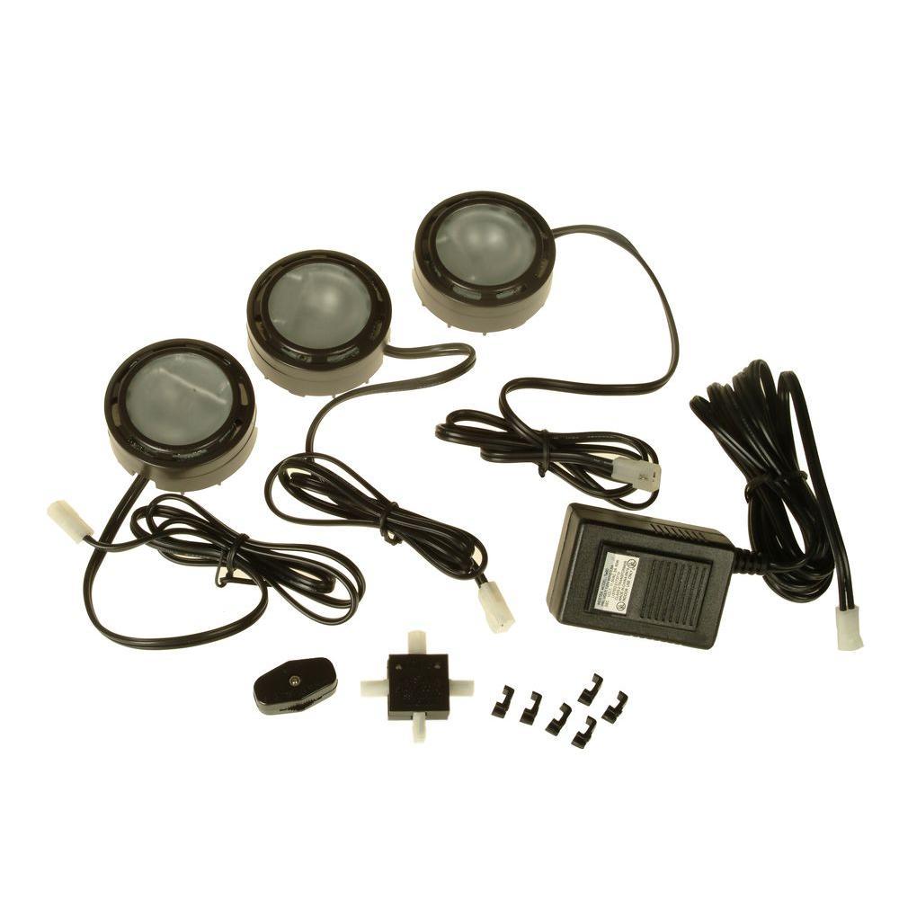 Westek Xenon Bronze Accent Light (3-Pack)