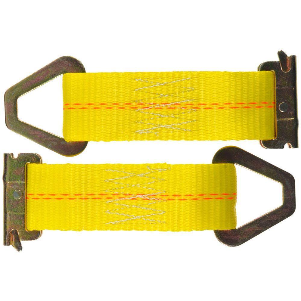 7 in. 2000 lb. Tie-Off E-Track