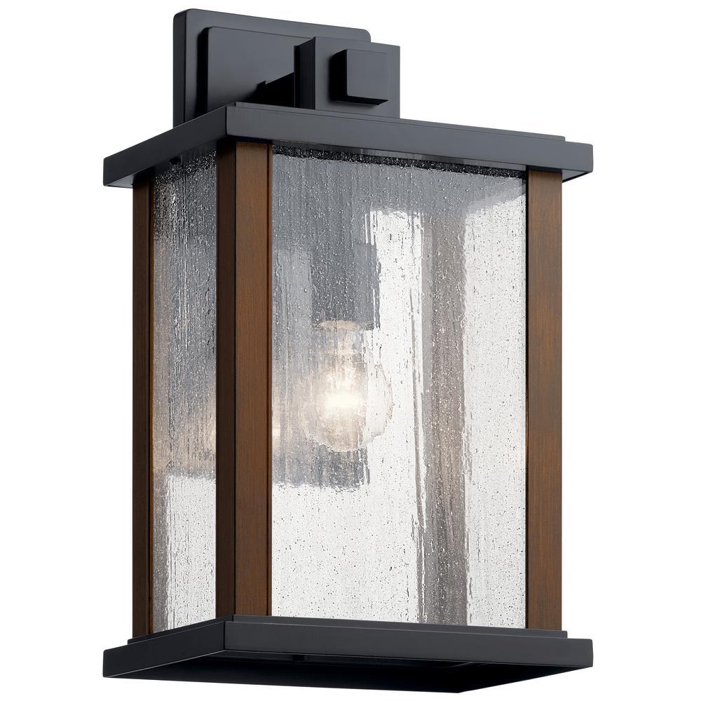 Kichler 49132BRZ Bronze Venetian Rain Aluminum Outdoor Wall Sconce Lighting 180 Watts