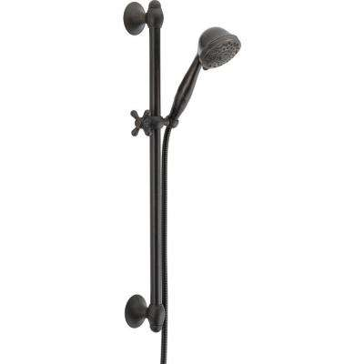 7-Spray Slide Bar Hand Shower in Venetian Bronze
