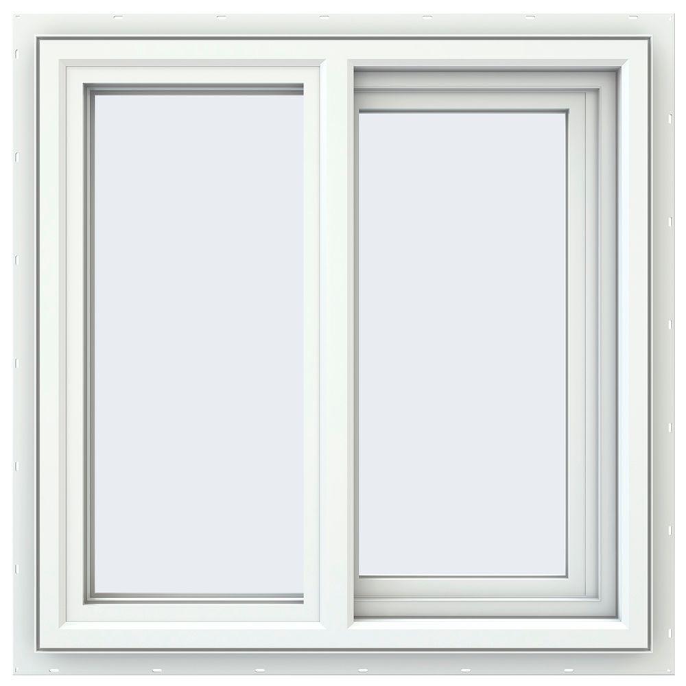23.5 in. x 23.5 in. V-4500 Series Right-Hand Sliding Vinyl Window