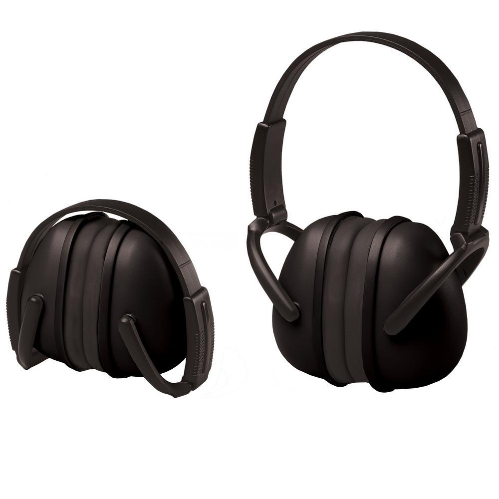 239 Foldable Ear Muff NRR 23 dB in Black