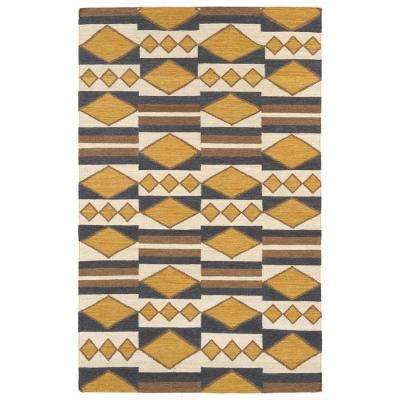 Nomad Gold 5 Ft X 8 Area Rug
