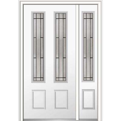 48 in. x 80 in. Solstice Glass Right-Hand 2-3/  sc 1 st  The Home Depot : doors steel - pezcame.com