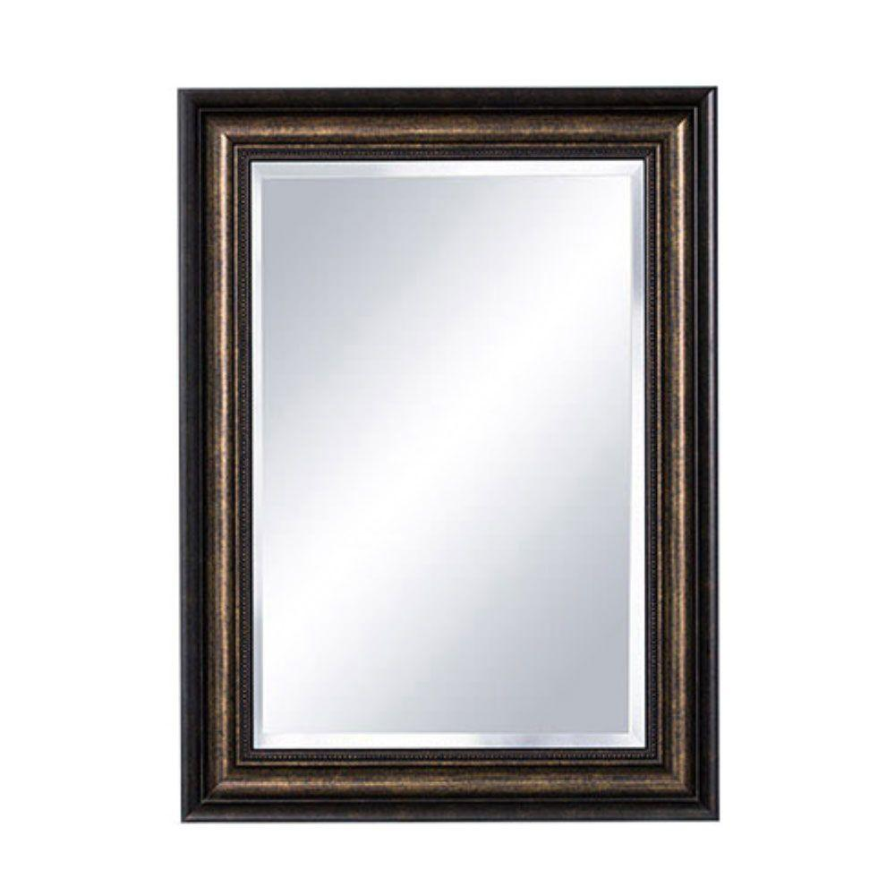 Bellaterra Home Dundee 22 25 In X 30 25 In Framed Mirror