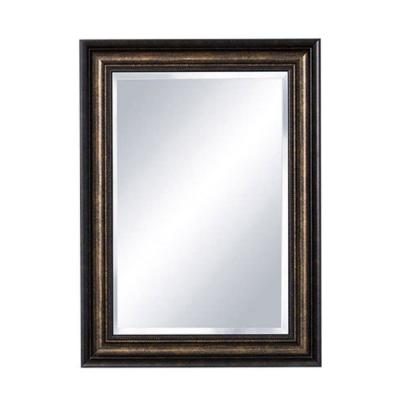 Dundee 22.25 in. x 30.25 in. Framed Mirror Surface-Mount Medicine Cabinet in Dark Espresso